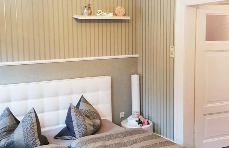 Renovierung einer Wohnung mit Farbefekten