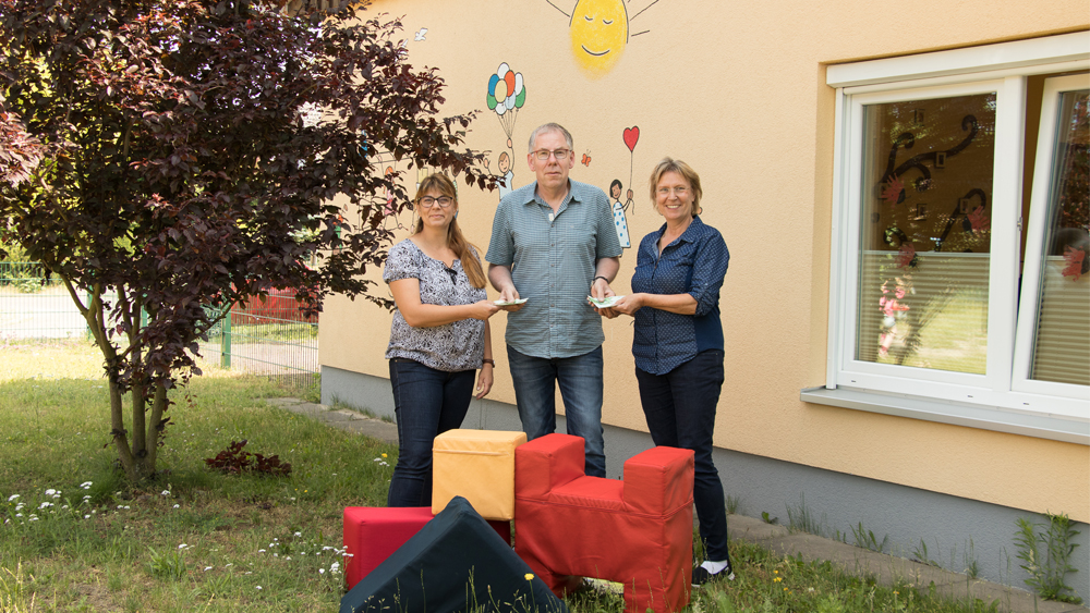 Malerteam Suderburg übergibt Geldspende