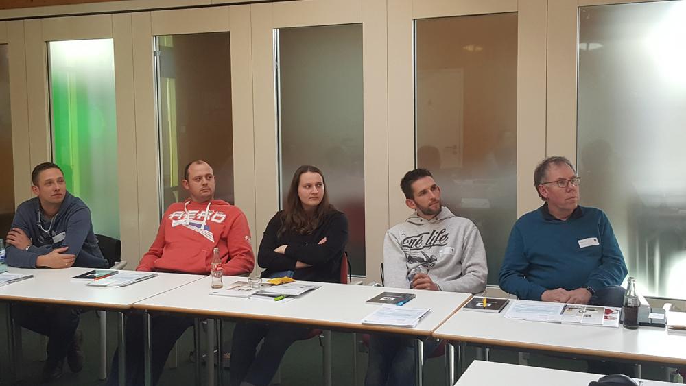 Fortbildung März 2019 Caparol Akademie